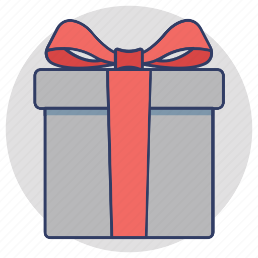 birthday gift, gift, gift hamper, present, special offer icon