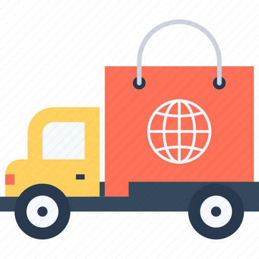 car, delivery, logistics, shopping, transportation, truck, vehicle icon