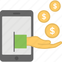 digital payment, internet payment, mobile app, mobile payment, online payment icon