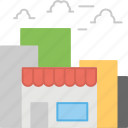 commercial center, grocery store, market, shop, store icon