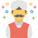 assistant, clerk, concierge, shopkeeper, store keeper icon