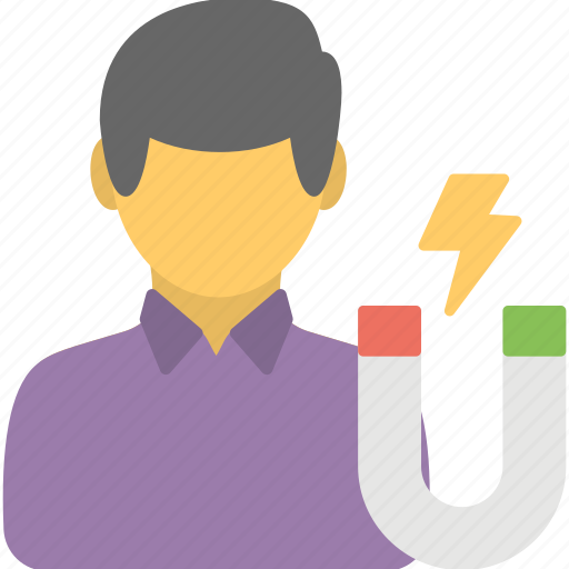attracting customers, consumer market, customer retention, target market, targeting customers icon