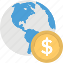 buy online, global payment, international payment, online money, worldwide payment icon