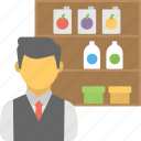 food store, general store, grocery store, retail store, shop icon