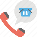 advertising call, branding call, marketing call, promotional call, shopping information icon