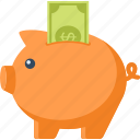 bank, budget, finance, investment, money, piggy, savings