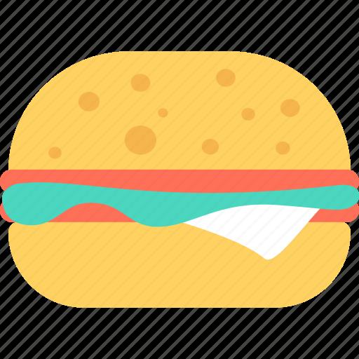 Breakfast, burger, eating, fast, food, hamburger, restaurant icon - Download on Iconfinder