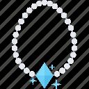accessory, fashion, gem, jewel, jewelry, necklace, pearl