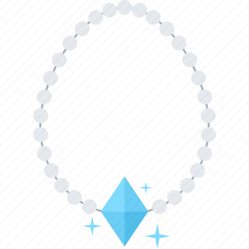 Accessory, fashion, gem, jewel, jewelry, necklace, pearl icon - Download on Iconfinder