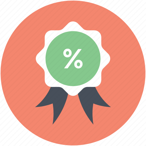 award badge, badge, offer badge, percentage award, ribbon icon