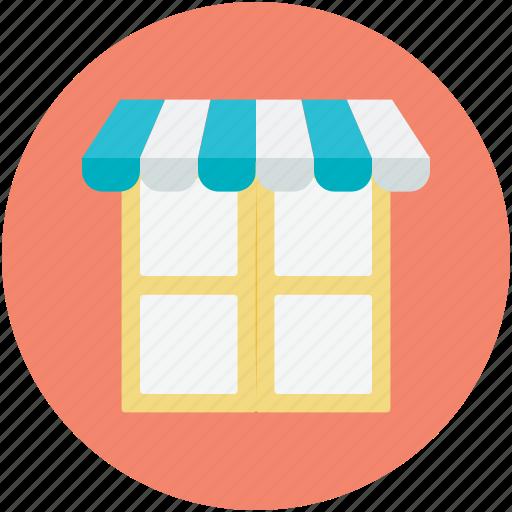 building, market, marketplace, shop, store icon