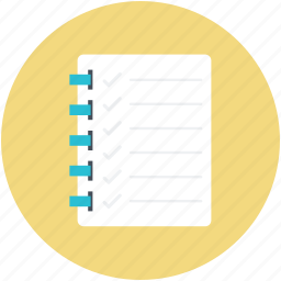 documents, jotter, jotter papers, paper pad, papers icon