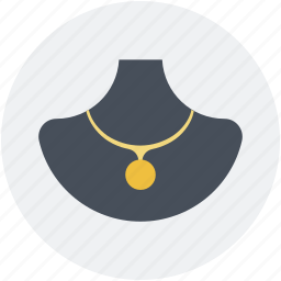 jewellery display, jewelry, jewelry showcase, necklace, necklace display icon