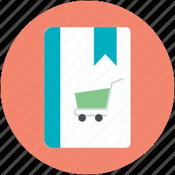 diary, notebook, notepad, shopping album, shopping book icon