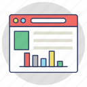adwords, web analytics, online graph, web rating, web ranking icon
