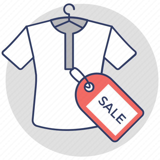 clothing sale, promotional offer, sale offer, shirt for sale, t shirt icon