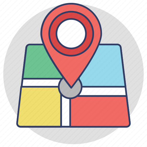 gps, location pointer, map locator, map pin, placeholder icon