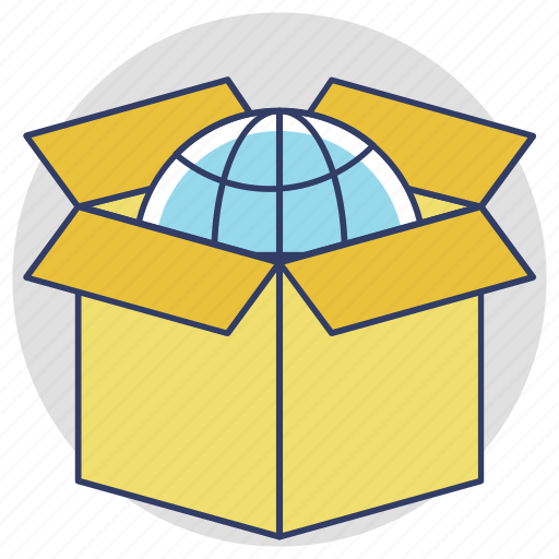 delivery package, global delivery, global shipping, international delivery, international shipping icon