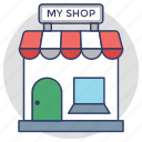 marketplace, my shop, shop, store, superstore icon