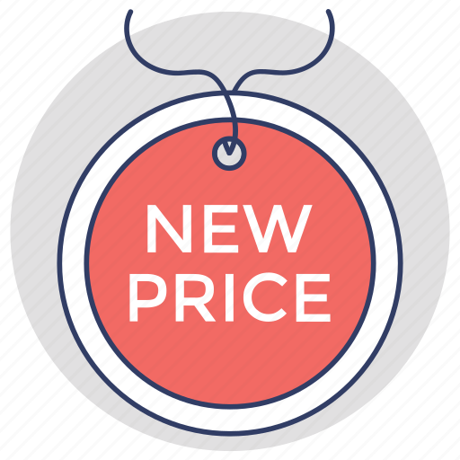 new brand, new deal, new offer, new price, product development icon