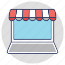 buy online, ecommerce, estore, online marketplace, online shop icon
