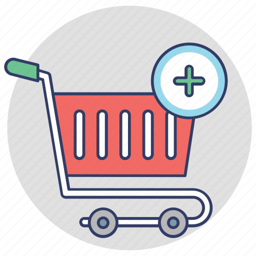 add to cart, buy online, ecommerce, online shopping, shopping trolley icon