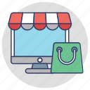 buy online, online shop, online shopping, shopping cart, shopping website icon