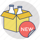 brand launch, new brand, new item, new product, product development icon