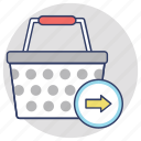 checkout, ecommerce checkout, order confirmation, shopping basket, shopping checkout icon