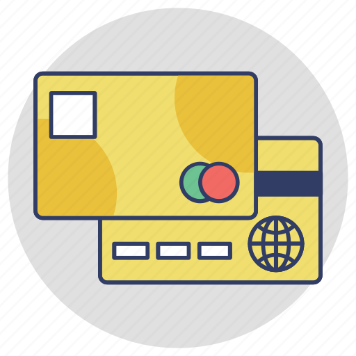 atm card, bank card, credit card, online banking, plastic money icon