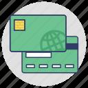cash card, bank card, atm card, credit card, plastic money icon