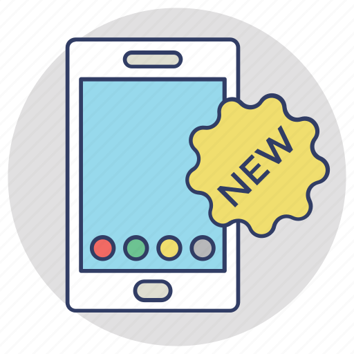 brand launch, new brand, new mobile launch, new product, product development icon