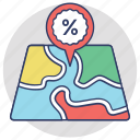 map pin, map locator, placeholder, address pin, location pointer icon