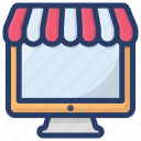 buy online, ecommerce, online shop, online shopping, online store icon