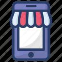 buy online, m commerce, mobile shop, online shop, online shopping, online store icon