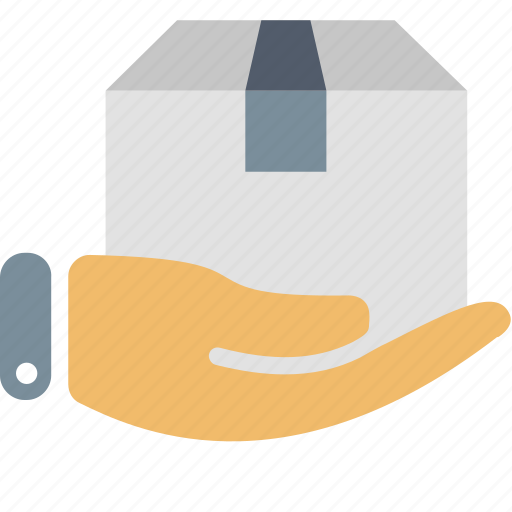 Delivery, box, hand, package, service, shipping, transportation icon - Download on Iconfinder