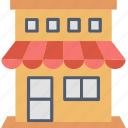 address, location, place, retail, shop, shopping, store icon