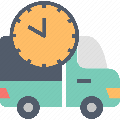 delivery, shipping, special, time, transportation, truck, urgent icon