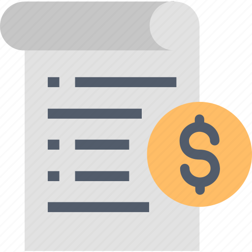 Bill, your, buy, dollar, invoice, money, payment icon - Download on Iconfinder