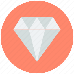 diamond, gemstone, gift, jewel, precious stone icon