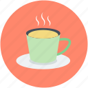 coffee, hot coffee, hot tea, tea, tea cup icon