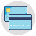 atm card, credit card, debit card, internet banking, plastic money icon