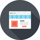 commerce, market, shop, shopping, store, web, webshop icon