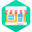 commerce, ecommerce, open, shipping, shop, shopping, store icon