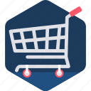 bag, buy, cart, commerce, ecommerce, shopping, trolley icon