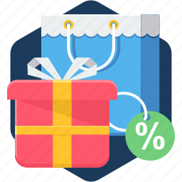 business, discount, ecommerce, off, offer, sale, shop icon