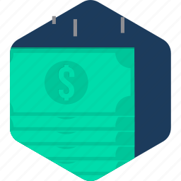business, cash, currency, finance, money, paper, payment icon