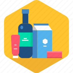 grocery, items, list, shop, shopping, store icon
