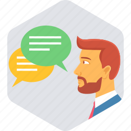 communication, customer, feedback, interaction, service, support, testimonial icon