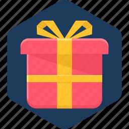 box, christmas, decoration, gift, present, xmas icon